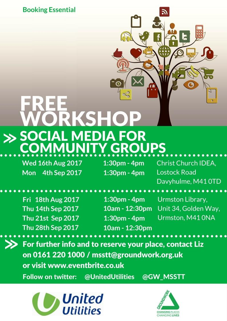Social Media for Community Groups Workshop