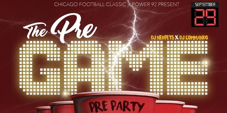 CHICAGO FOOTBALL CLASSIC PRE-PARTY tickets