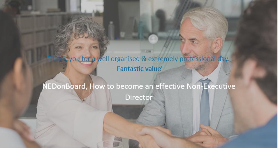 NEDonBoard - How do you become a(n effective) Non-Executive Director?