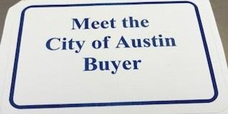 WORKSHOP CANCELLED - Meet the City of Austin Buyer  tickets