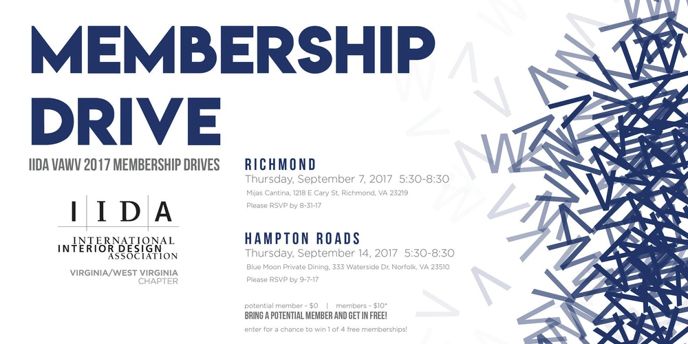 IIDA Membership Drive 2017