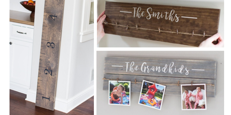 DIY Giant Ruler Or Photo Display Board Tickets