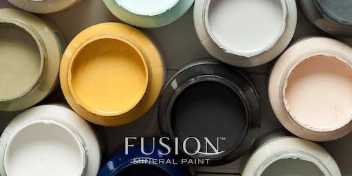 Fusion 101 paint class