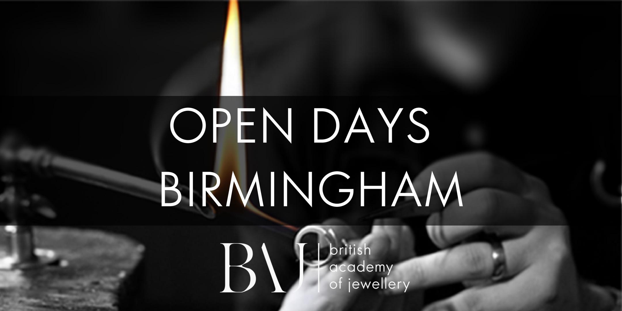 British Academy of Jewellery Birmingham Open