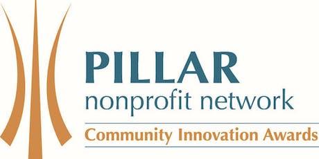 2019 Pillar Community Innovation Award Finalists Announcement tickets
