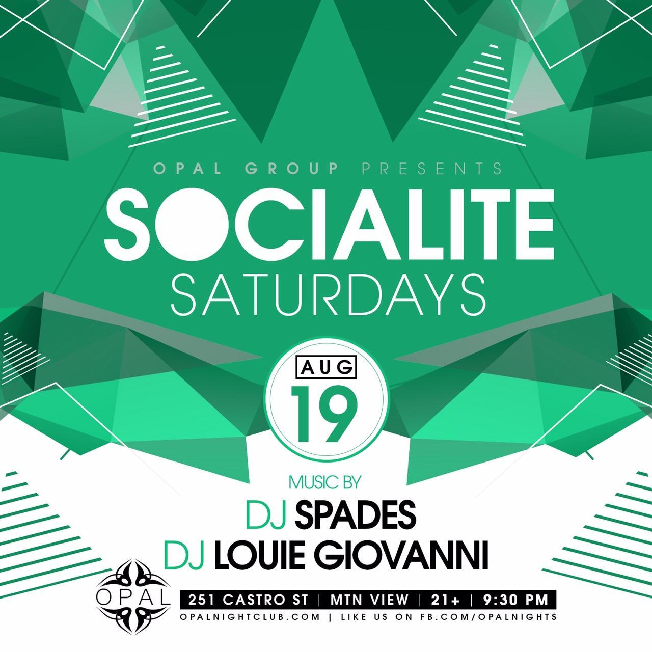 Socialite Saturday