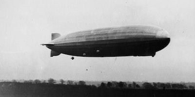 Zeppelin! The 'silent raid' of October 1917