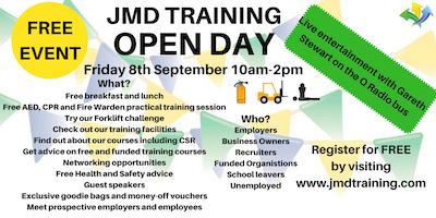 JMD Training Open Day