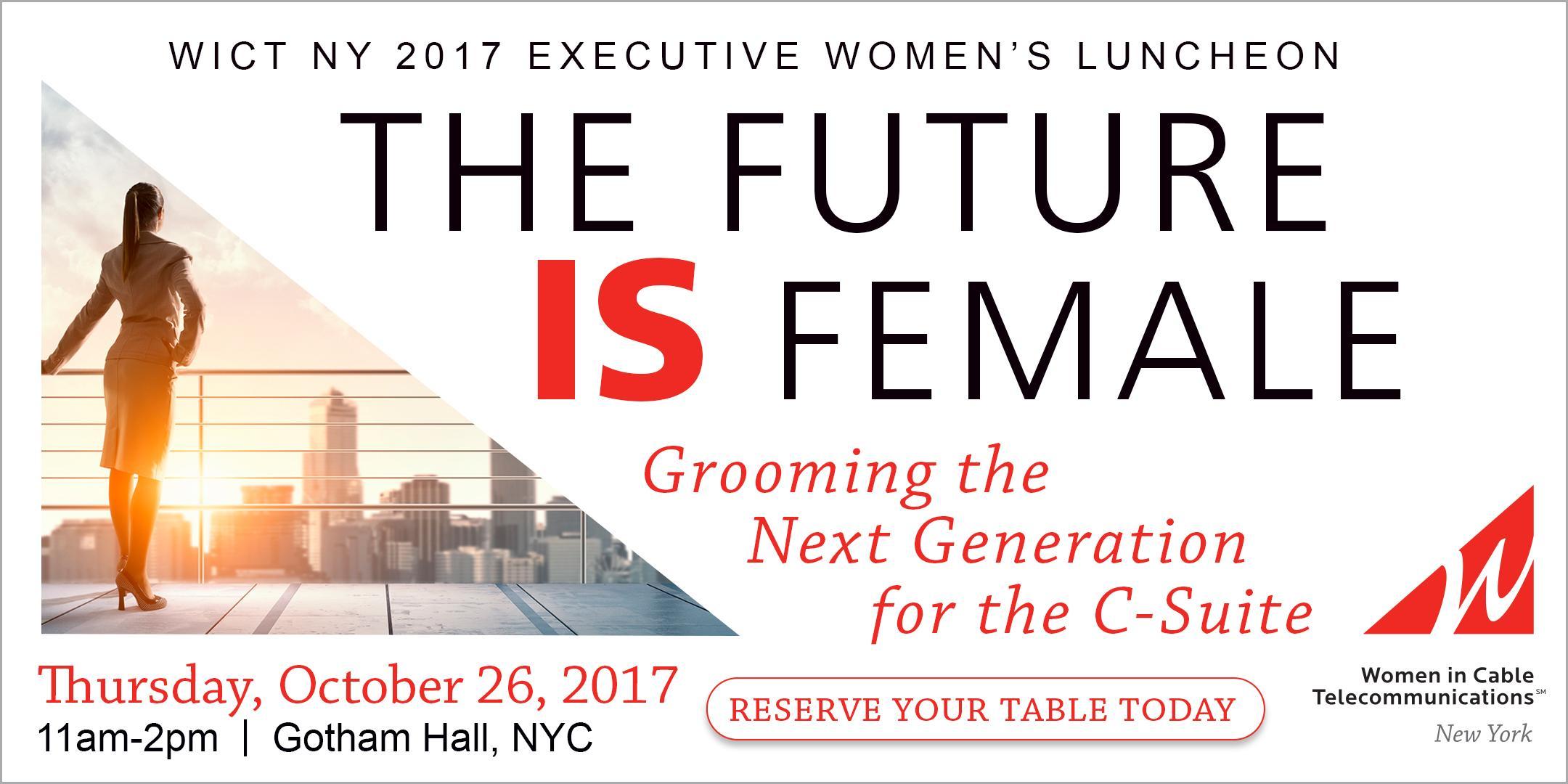 2017 Executive Women's Luncheon