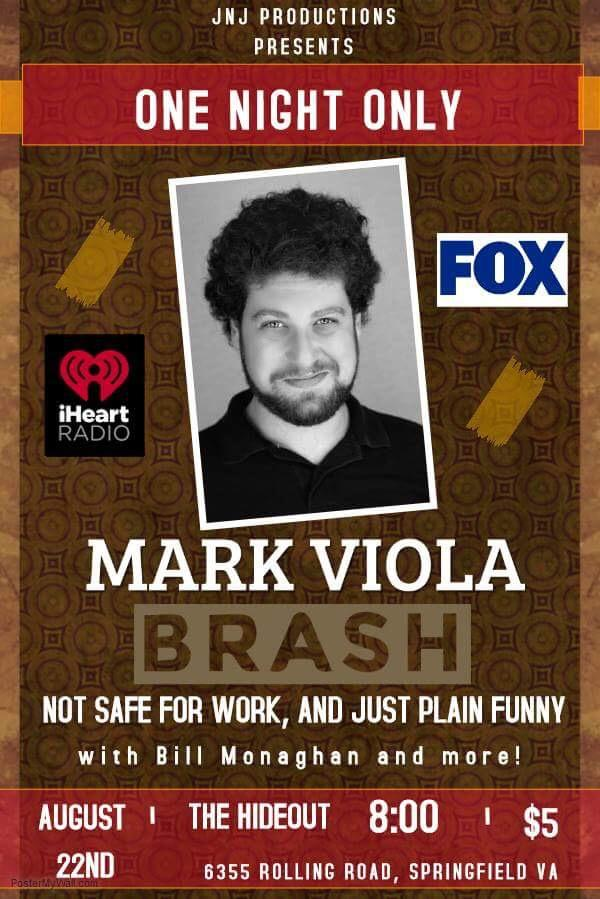 Brash Comedy: NSFW with Mark Viola