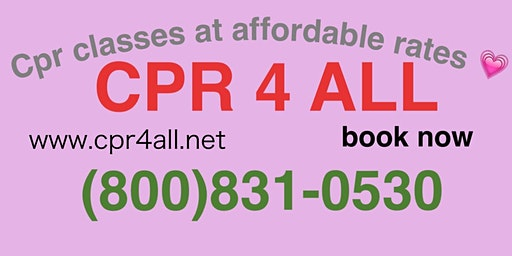 CPR/Aed course