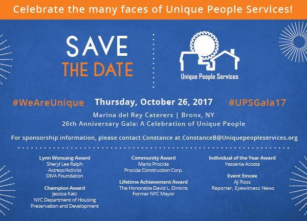 UPS 26th Anniversary: A Celebration of Unique