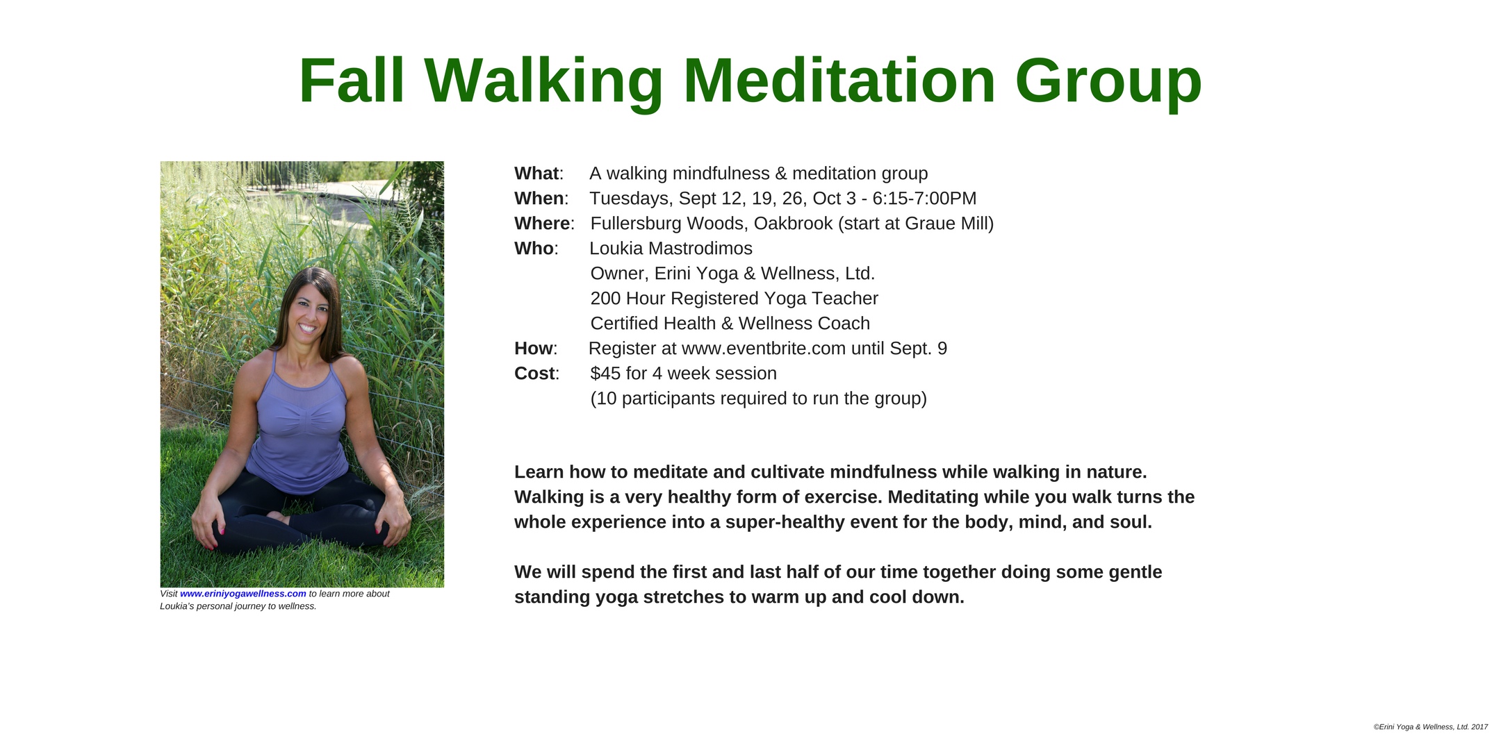 Walking Meditation Group-September