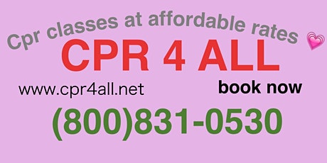 (BLS)Basic life support for healthcare providers Course Renewals Only tickets