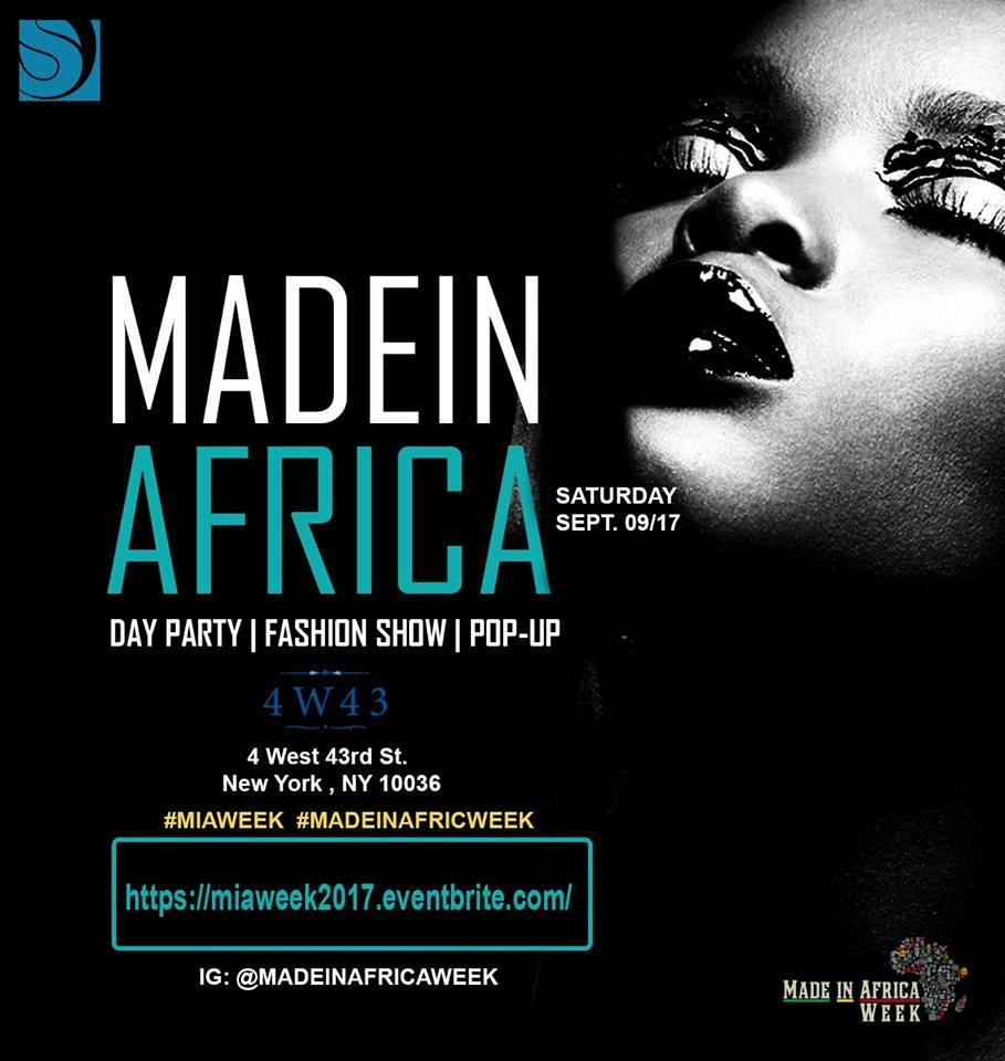 MADE IN AFRICA WEEK 2017: FASHION SHOW