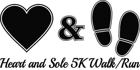 Heart & Sole 5k Walk/Run tickets