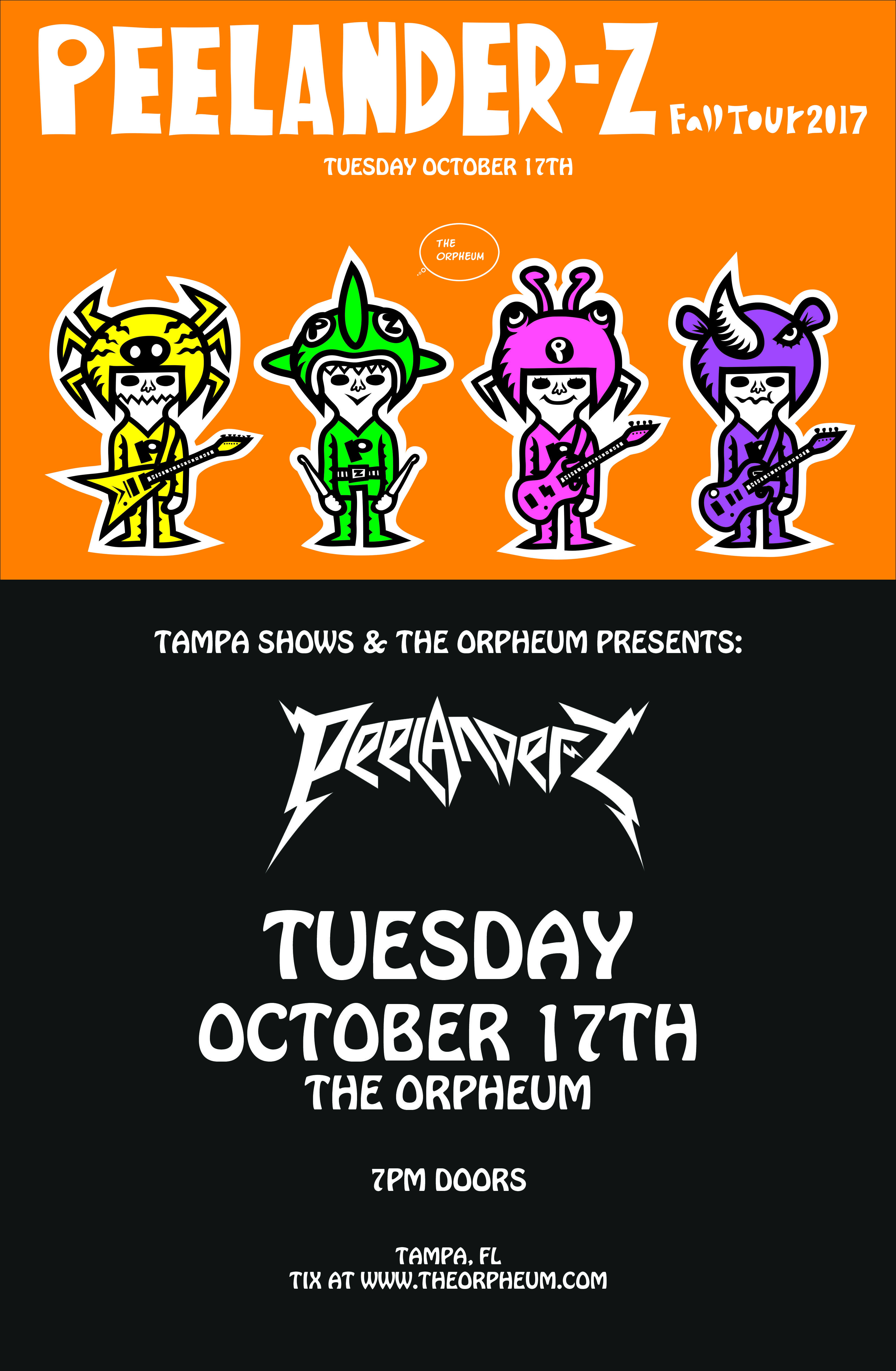 Hip hop radio stations in tampa fl - Peelander Z The Orpheum