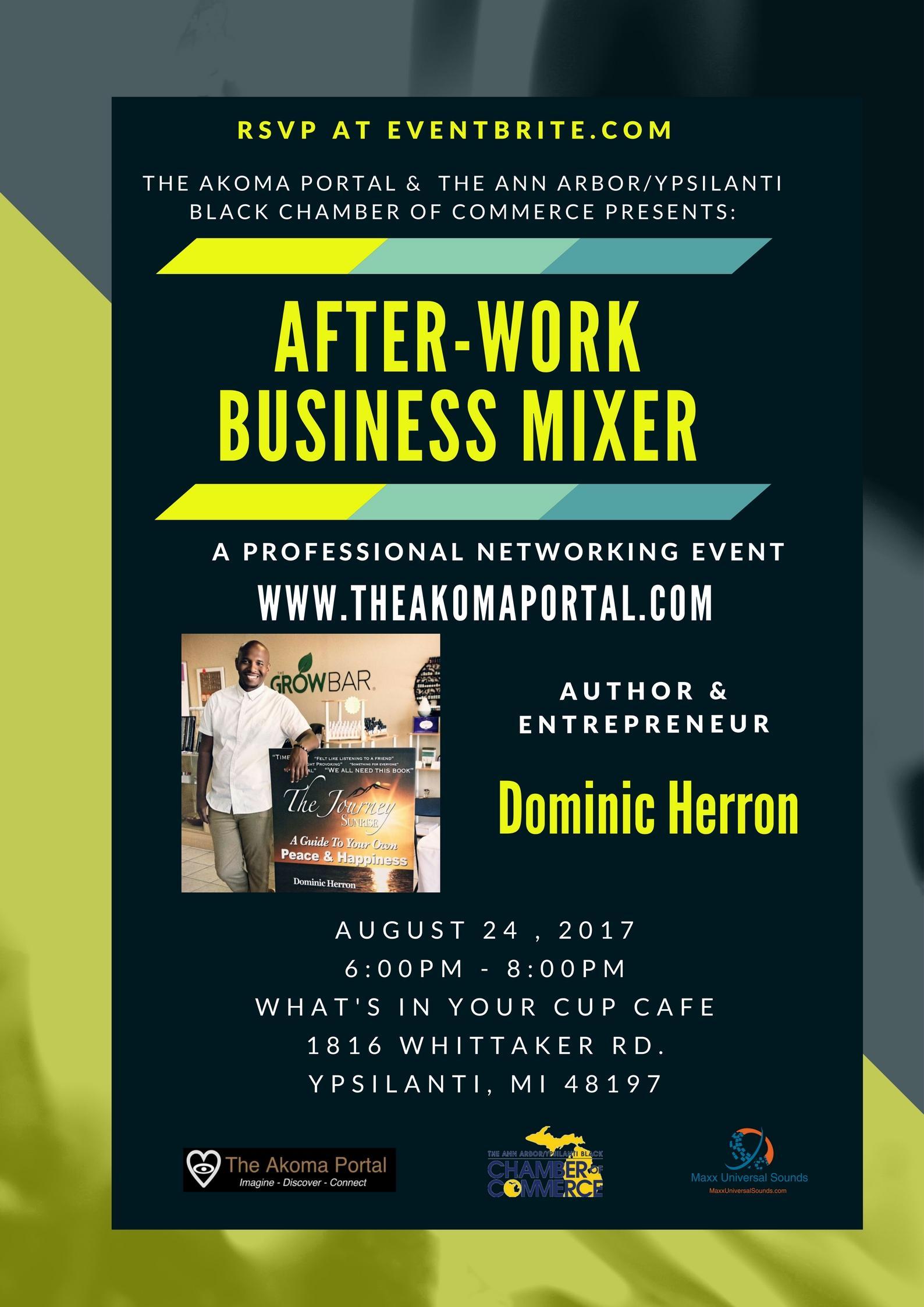 Akoma Portal After-Work Business Mixer