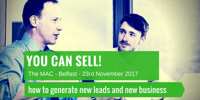 You can SELL! How to cold-call, generate appointments and get new business