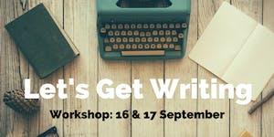 Let's Get Writing Weekend