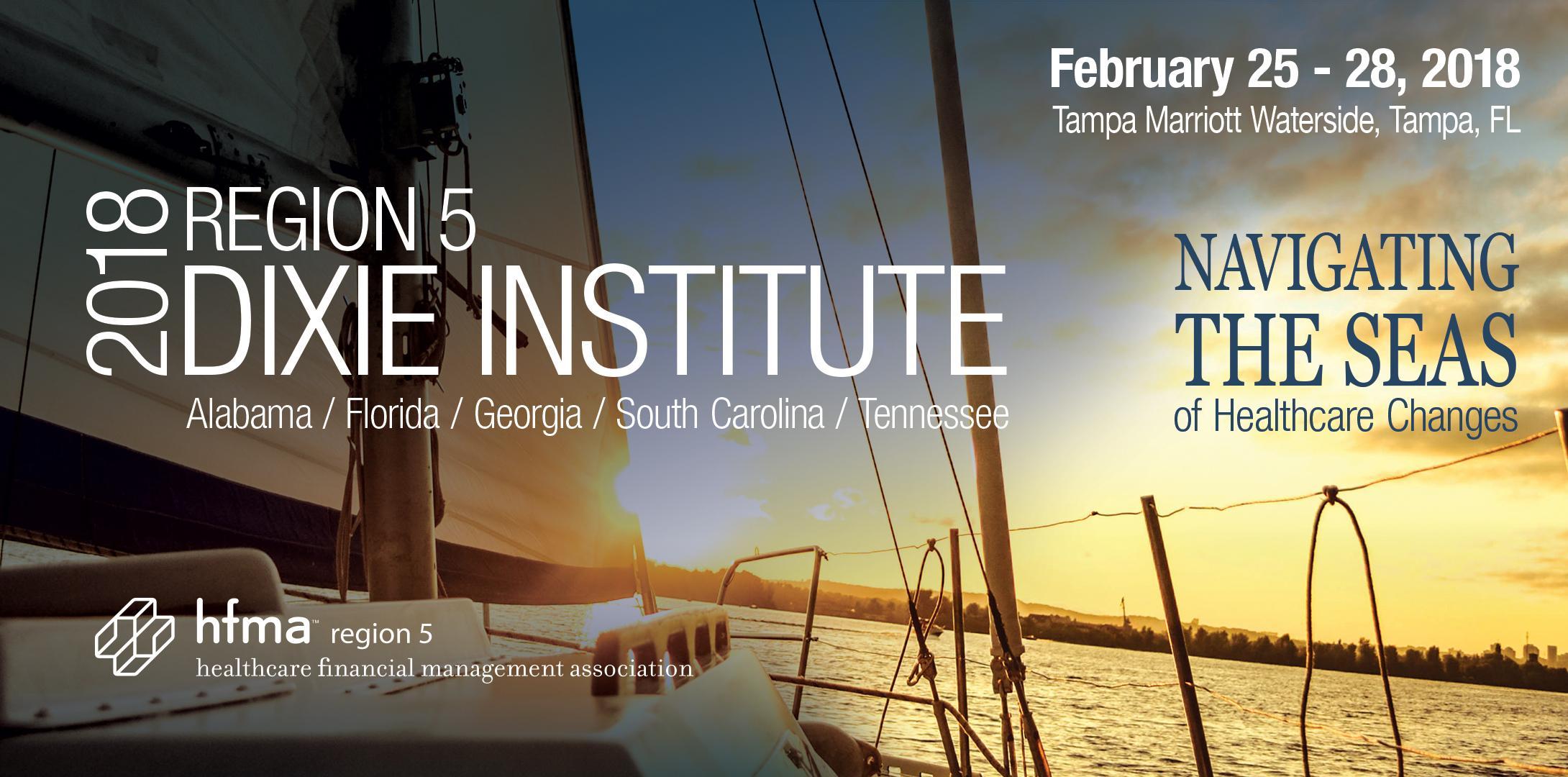 2018 HFMA Region 5 Dixie Institute Exhibiting