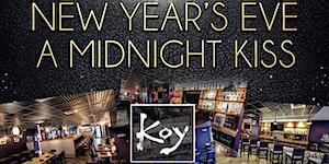 """A Midnight Kiss"" New Year's Eve at Koy Boston..."