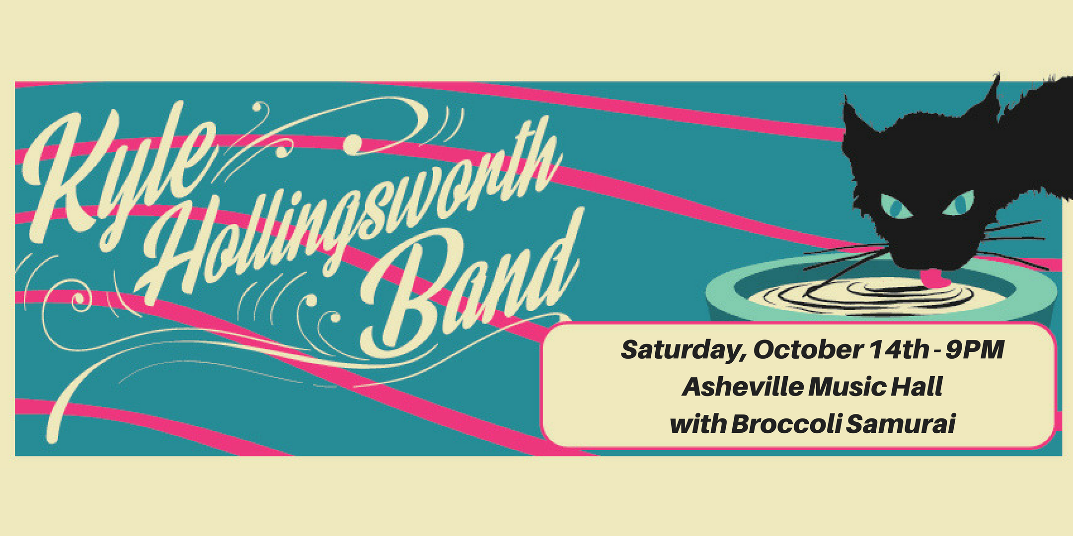 Kyle Hollingsworth Band with support Broccoli Samurai