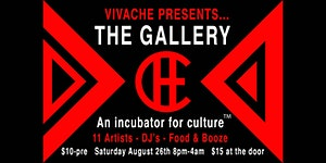 """VIVACHE PRESENTS... THE GALLERY """"An incubator for..."""