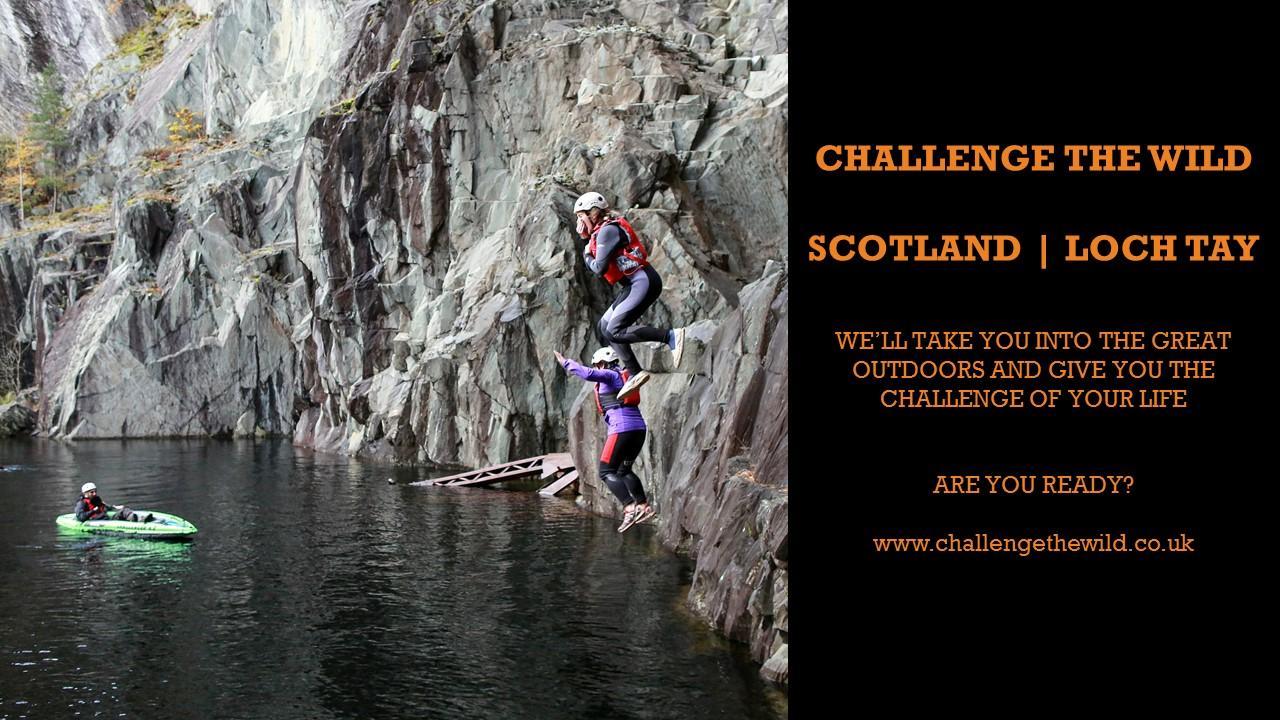 Challenge The Wild (1 day) - Scotland Loch Ta