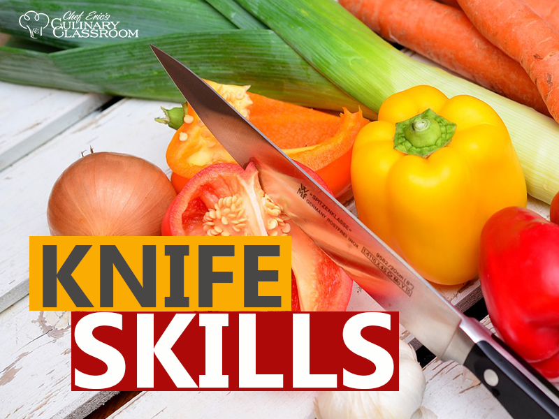 Knife Skill Class- Saturday, Sat, 1/20/18 - 1:30pm-4pm with Chef Eric Crowley in West LA