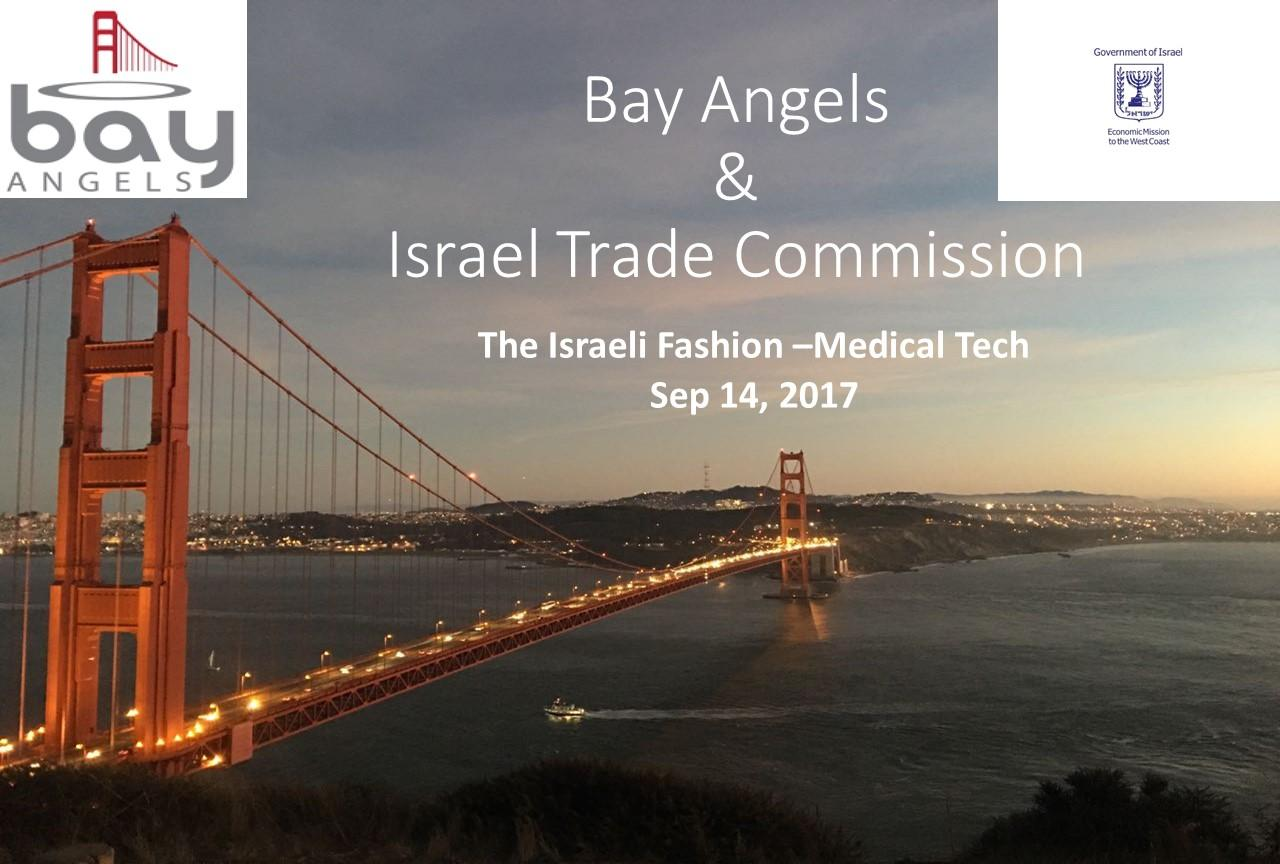 Bay Angels & Israel Trade Commission - Digital Health - Sep 14, 2017