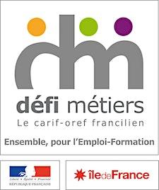 Défi métiers, le carif-oref francilien logo
