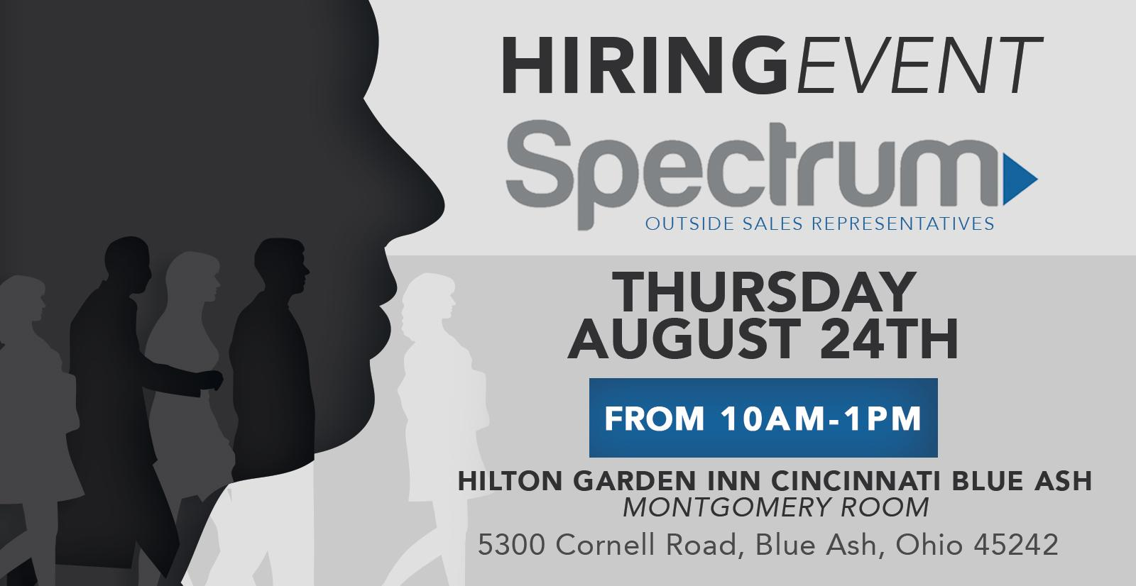Free Job Fair! Spectrum Outside Sales