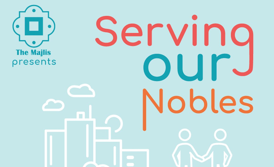 """Serving Our Nobles"""