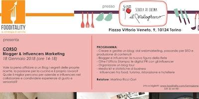Blogger & Influencers Marketing - corso di formazione