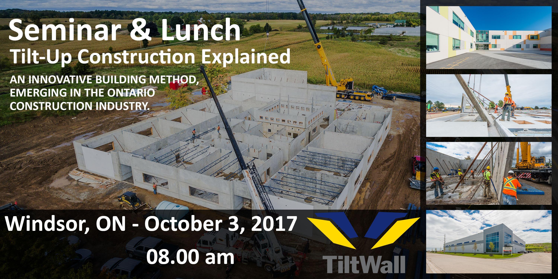 seminar & lunch: tilt-up concrete construction explained @ quality