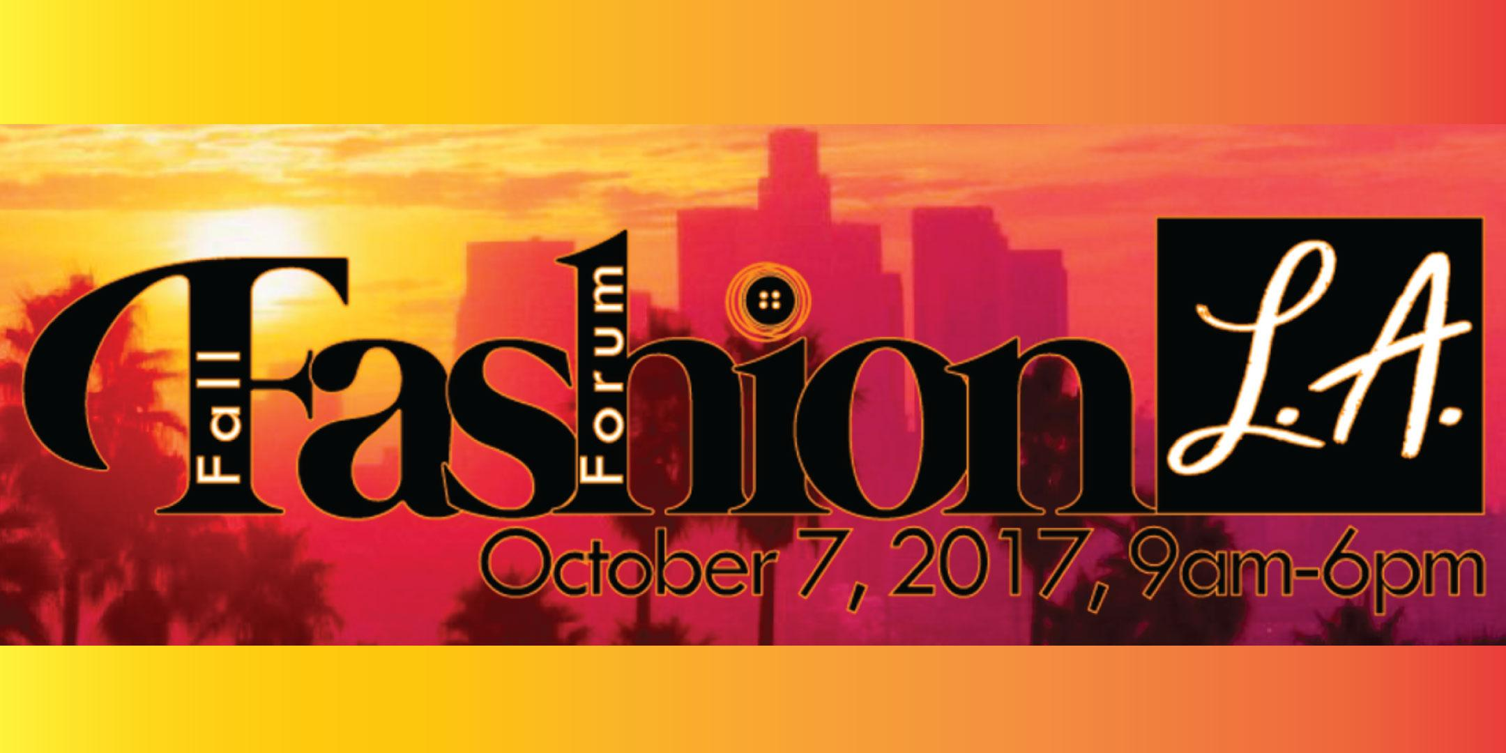 Fall Fashion Forum L.A.