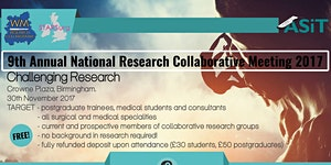 National Research Collaborative Meeting 2017, **FREE**