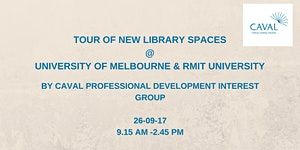 Tour of new library spaces by CAVAL Professional Develo...