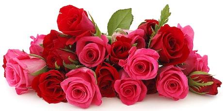 Creating Beautiful Arrangements Using Roses tickets