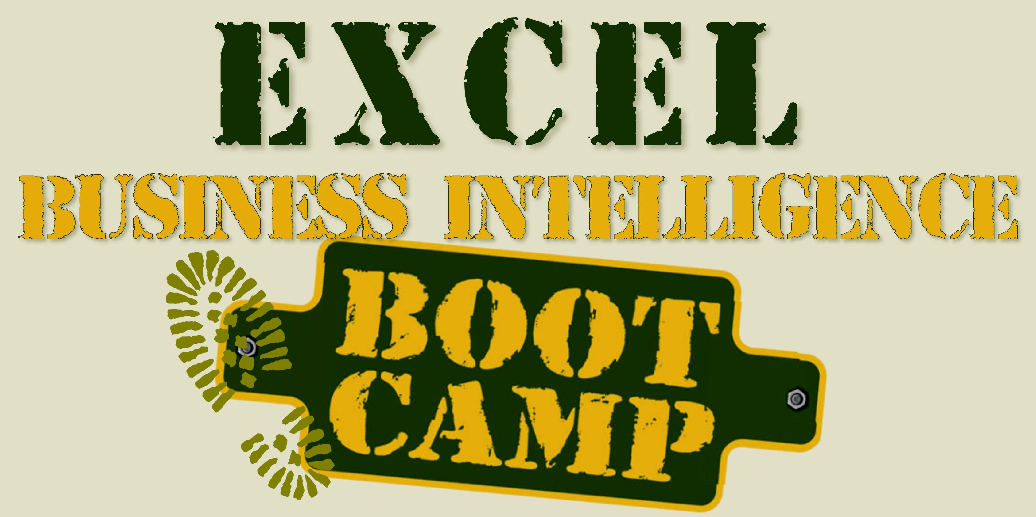 Excel Business Intelligence Boot Camp (Leeds)