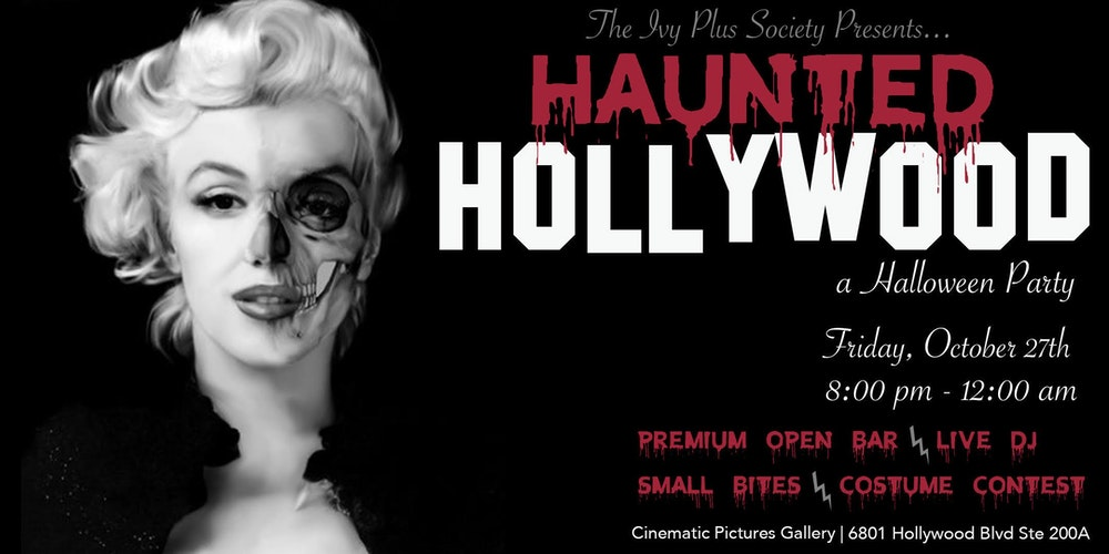 LA: Haunted Hollywood Halloween Party Tickets, Fri, Oct 27, 2017 ...