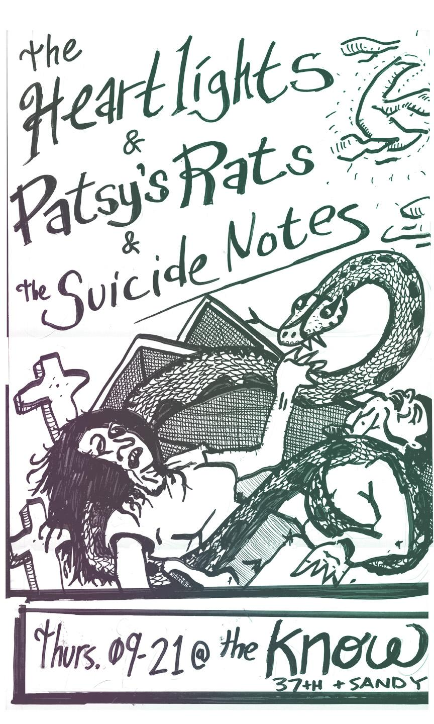 The Heartlights // Patsy's Rats // The Suicide Notes