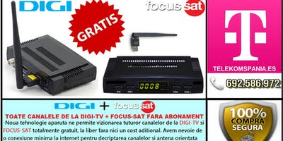 Receptoare Satelit Digi TV, Focus Sat fara Abonament