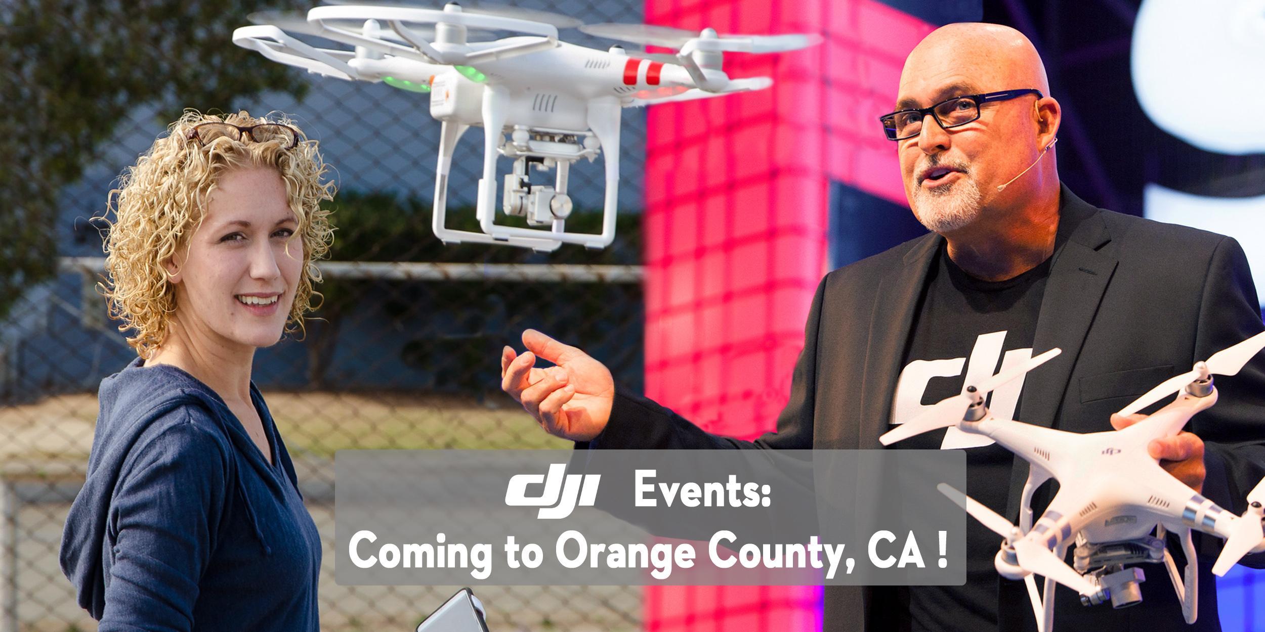 DJI Aerial Photo Academy – on Tour in Orange County, CA!