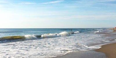 Ocean City Beach Yoga at 118 Street and The Beach