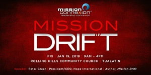 Leadership ConneXion 2018: Mission Drift