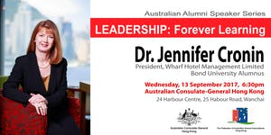 Australian Alumni Speaker Series: LEADERSHIP - Forever...