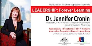 Australian Alumni Speaker Series: LEADERSHIP - Forever...