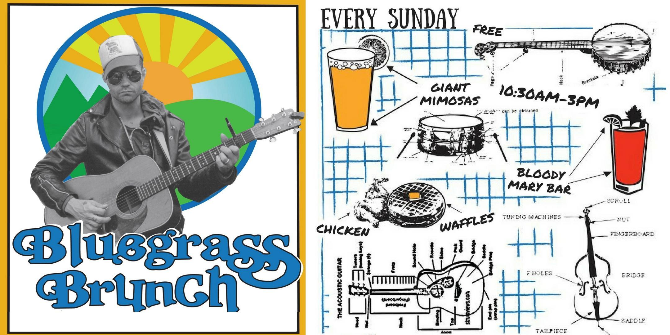 Bluegrass Brunch w/ Sufi Brothers, Bald Mountain Boys + Chicken Coop Willaye